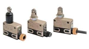 Sensores mecânicos/interruptores de fim de curso